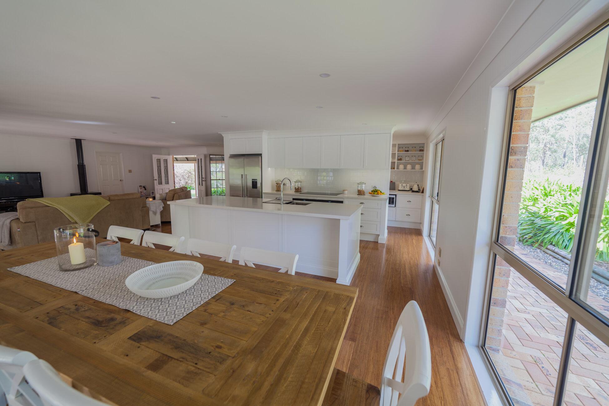 Warner Kitchen & Living Renovation